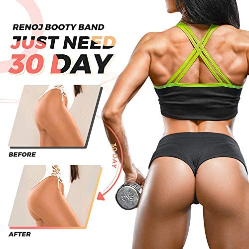 Booty Bands, Resistance Bands, 3 Levels Exercise Bands for Legs and Butt