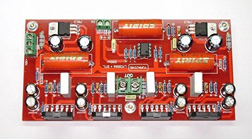 LM3886 + NE5532 200W Audio power Amplifier Board In parallel BTL