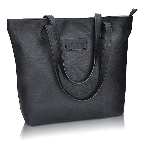 Large Black Handbag Purse - 2