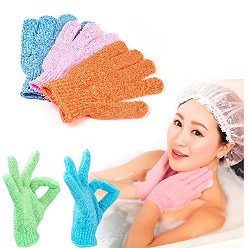 Wholesale Exfoliating Gloves Shower Hygeine