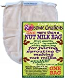 Rawsome Creations, NMB1 More Than a Nut Milk Bag, Single Bag