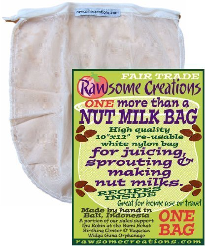 Rawsome Creations, NMB1 More Than a Nut Milk Bag, Single Bag by Rawsome Creations (Image #1)