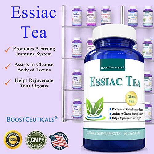 photo Wallpaper of BoostCeuticals-Essiac Tea 900mg 90 Capsules Based On Organic-