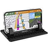 Cell Phone Holder for Car, AONKEY Dashboard Car Pad Mat Vehicle GPS Mount Universal Fit All Smartphones, Compatible iPhone Xs/XS Max XR X 6S 7/8 Plus, Galaxy Note 9/8 S8/S9/S10 Plus J7 J3, Pixel 3 XL