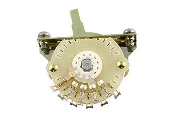 Oak Grigsby 4-way Blade Switch w/Mounting s - Tele Mod on