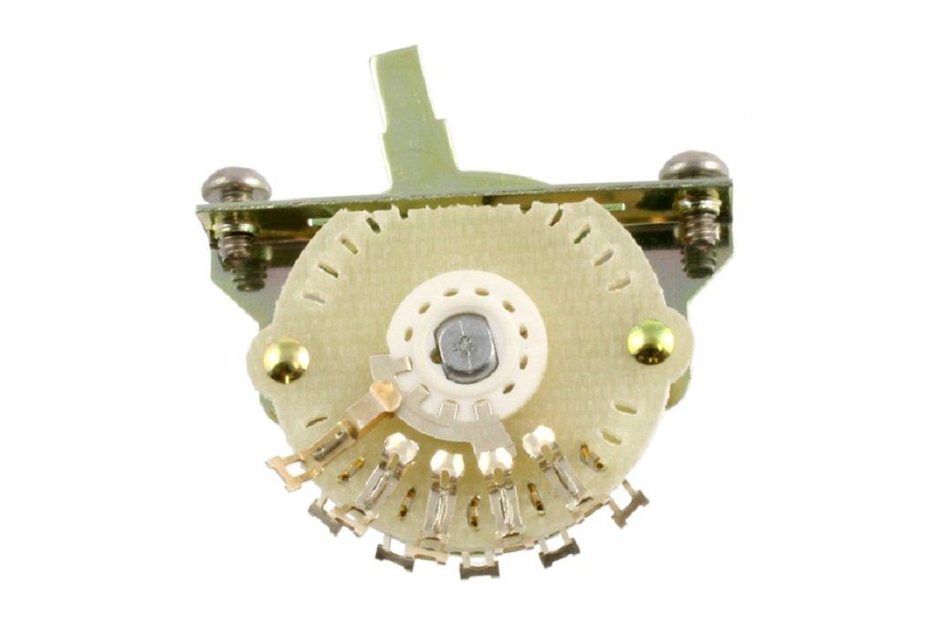 Oak Grigsby 4-way Blade Switch w/Mounting Screws - Tele Mod