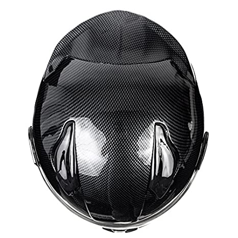 Amazon.com: KOI DOT Motorcycle Helmet Full Face KOI Gloss Carbon Fiber w/Clear Visor - Large: Automotive