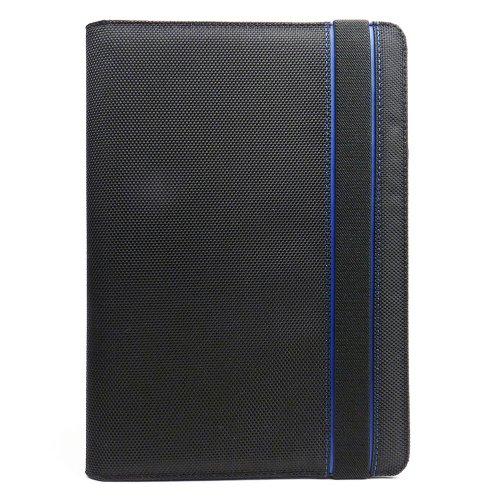 Javoedge Blue and Black Nylon Fabric Axis 360 Rotating Sm...