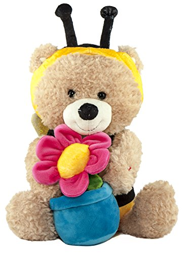 [Animated Singing And Dancing Bear in Bee Costume, Sunny Bee- by Cuddle Barn; Sings