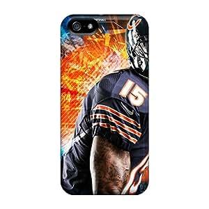 Iphone 5/5s DTy17031Qspu Customized Nice Chicago Bears Skin Scratch Resistant Hard Phone Covers -SherieHallborg