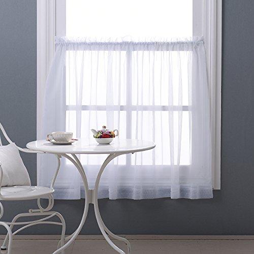 Sheer Kitchen Curtain - 1
