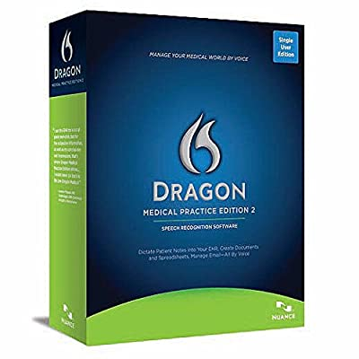 Nuance Dragon Medical Practice Edition 2 Electronic Download - 1 License with No Maintenance