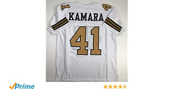 half off 6099b bec1e Unsigned Alvin Kamara New Orleans Color Rush Custom Stitched Football  Jersey Size Men's XL New No Brands/Logos