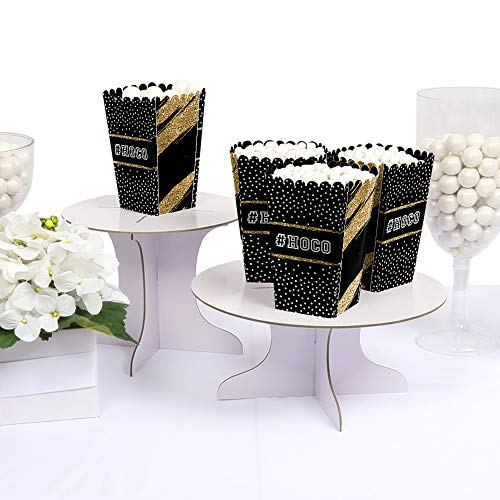 HOCO Dance - Homecoming Favor Popcorn Treat Boxes - Set of 12 by Big Dot of Happiness (Image #1)