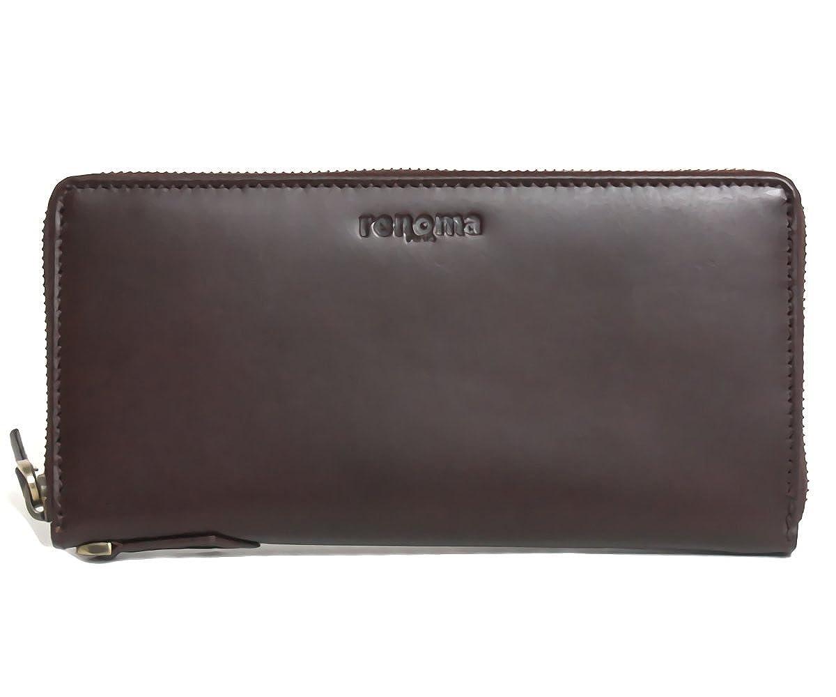 b7034ea95bbf Amazon.co.jp: (レノマ)renoma RE9000 002 ラウンドファスナー長財布 ゴールド金具 BROWN ブラウン  [並行輸入品]: 服&ファッション小物