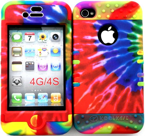 iphone 4 case tie dye - 1