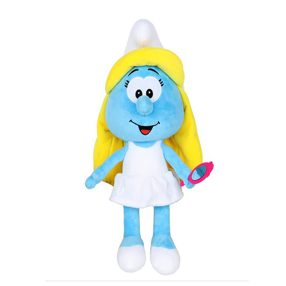 Smurfs Smurfette, Stuffed Animals Plush Toy Cute Gift for Kids Room Decoration 15'' by The Smurfs