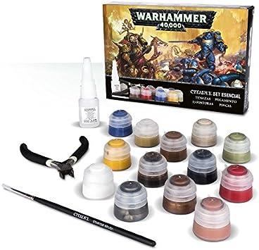 Warhammer 40k Citadel Set Esencial: Amazon.es: Juguetes y juegos