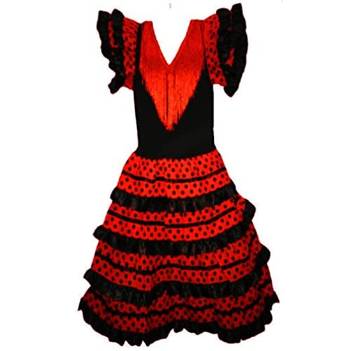 Robe flamenco sevillane pour fille