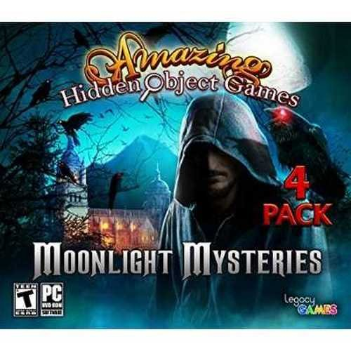 Moonlight Mysteries: Amazing Hidden Object Games (4 Pack)