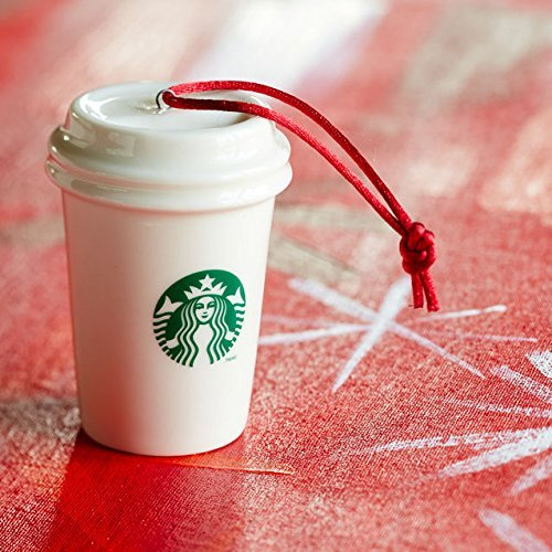 Starbucks Paper Cup Ornament - Logo (011042116) ()