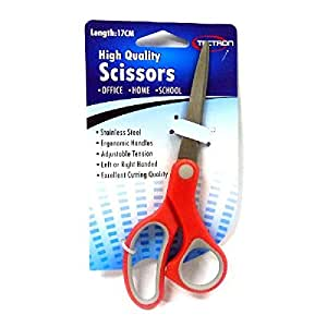 Scissors Set-7.5 Inch Stainless Steel Scissors (Pack of 2),Great For Kitchen Scissors,Gift Wrap and Arts & Crafts