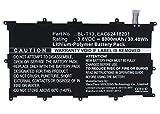 Synergy Digital Battery Compatible with LG V700 Tablet Battery (Li-Pol, 3.8V, 8000 mAh) - Repl. LG BL-T13 Battery