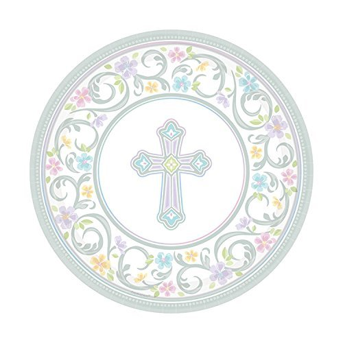 Blessed Day 7 Plate (2-Pack: 36 Plates) -