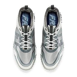 FootJoy Freestyle Mens Golf Shoe (Previous Season) - White/Grey/Blue (9 2E(W) US)