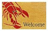 Home & More 120831729 Lobster Doormat, 17'' x 29'', Multicolor