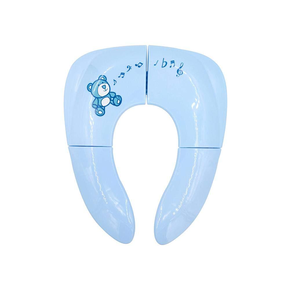 Teabelle Portable Voyage Pot Chaise Pliable de WC pour bébé Enfants rembourré Training WC
