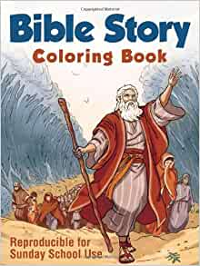 Bible Story Coloring Book: Compiled by Barbour Staff ...