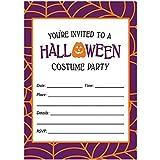 amazon com farmhouse halloween party invites envelopes pack of