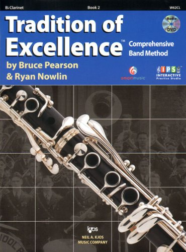 W62CL - Tradition of Excellence Book 2 - Bb Clarinet