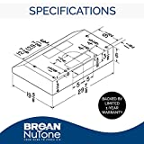 Broan-NuTone BCSEK130WW Glacier Energy Star