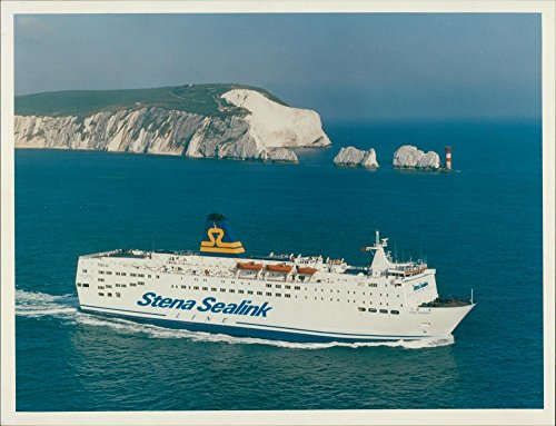 Vintage photo of A new name on the Channel and Irish Sea (16 November 1992) Stena Sealink Line will be operating to the Continent and Ireland from the UK.