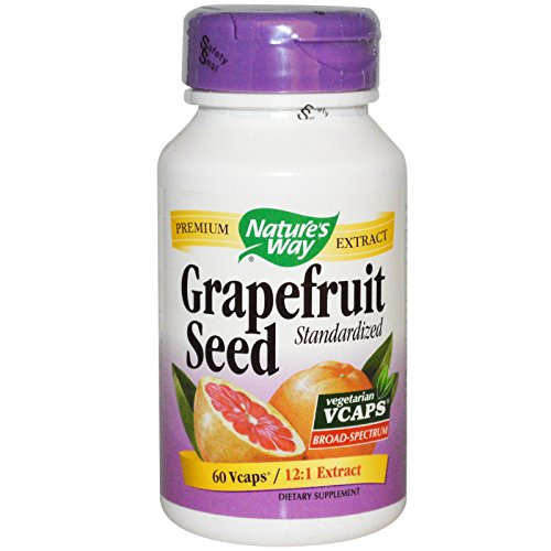 Nature's Way Grapefruit Seed, 250mg, 60 Vcaps Review