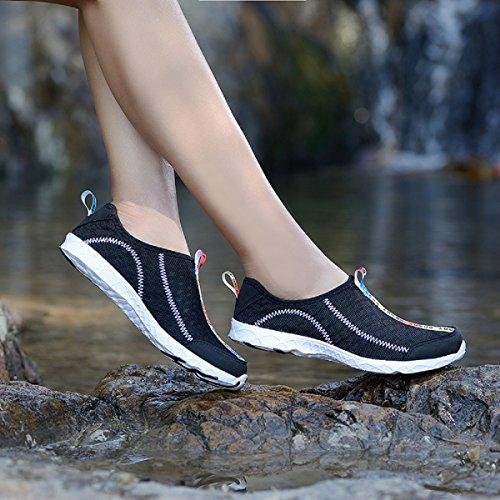 Water Black Dry On Barefoot Blue 36 Quick White 45 Swimming Footwear Outdoor Shoes Black Womens Socks NEOKER Skin Sports Diving Beach Slip Mens 4xqfEYwT