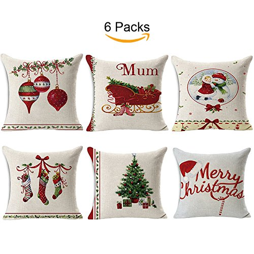 TOOL GADGET Throw Pillow Cover, Pillowcase (6x Christmas Pillowcase) for $<!--$16.99-->