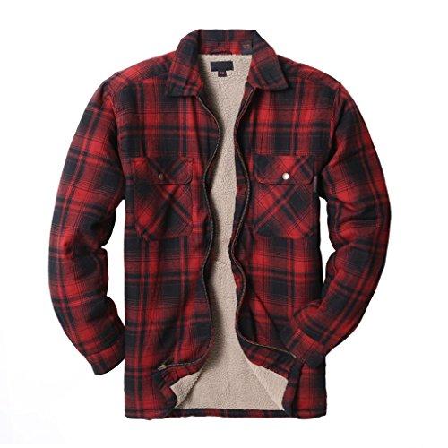Fleece Lined Flannel Shirt Womens