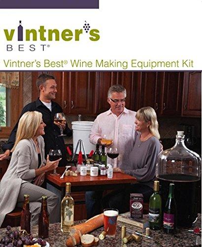 Vintners Best Wine Equipment Kit with 6 Gallon Better Bottle by Vintner's Best