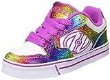 Heelys Kids Motion Plus White/Rainbow/Hot Pink