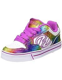 Heelys Motion Plus - White/Rainbow/Hot Pink