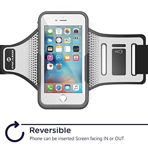 Encased Workout Armband for LifeProof FRE Case - iPhone 7 & iPhone 8 (case not included) by Encased (Image #3)