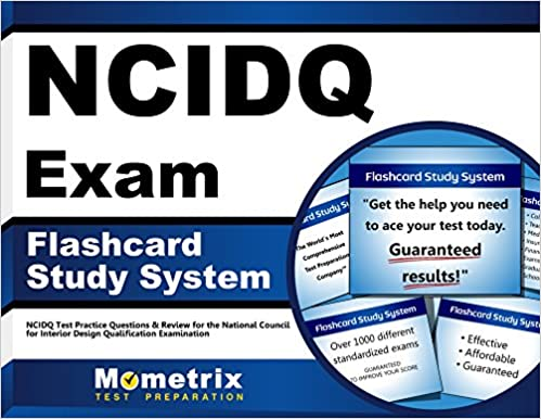 Amazoncom NCIDQ Exam Flashcard Study System NCIDQ Test Practice