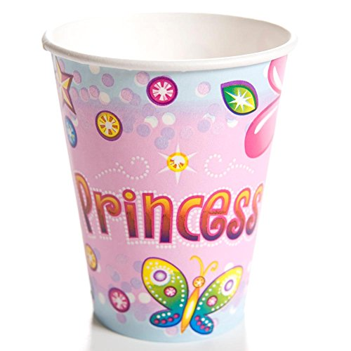 Birthday Princess 9 oz. Cups