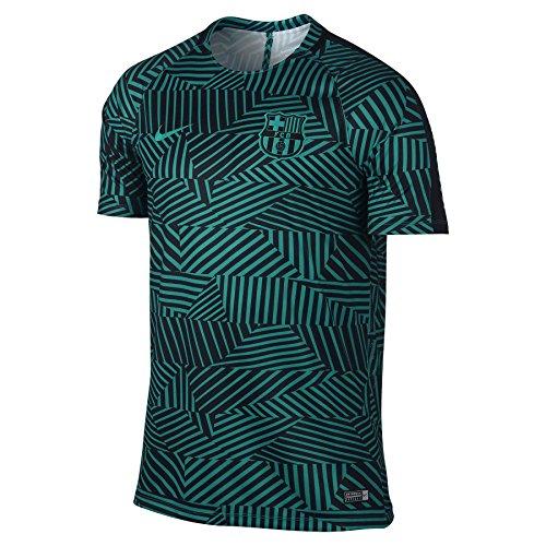 2016-2017 Barcelona Nike Pre-Match Dry Training Shirt (Energy-Bl