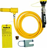 Bradley S19-430SH Drench Shower Hand Held Hose Spray Retrofit Kit, Yellow