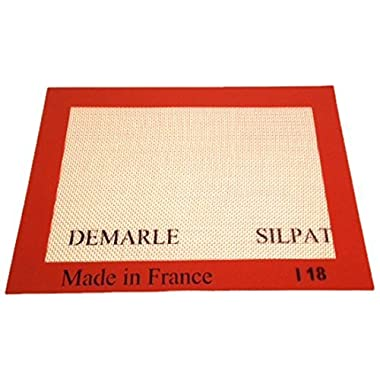 Silpat Non-Stick Silicone Baking Mat, Toaster Oven Size, 7-7/8  x 10-7/8