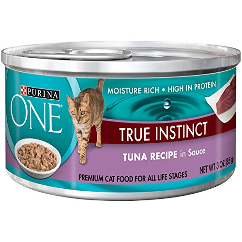 Purina ONE True Instinct In Sauce Wet Cat Food - (24) 3 oz.Cans